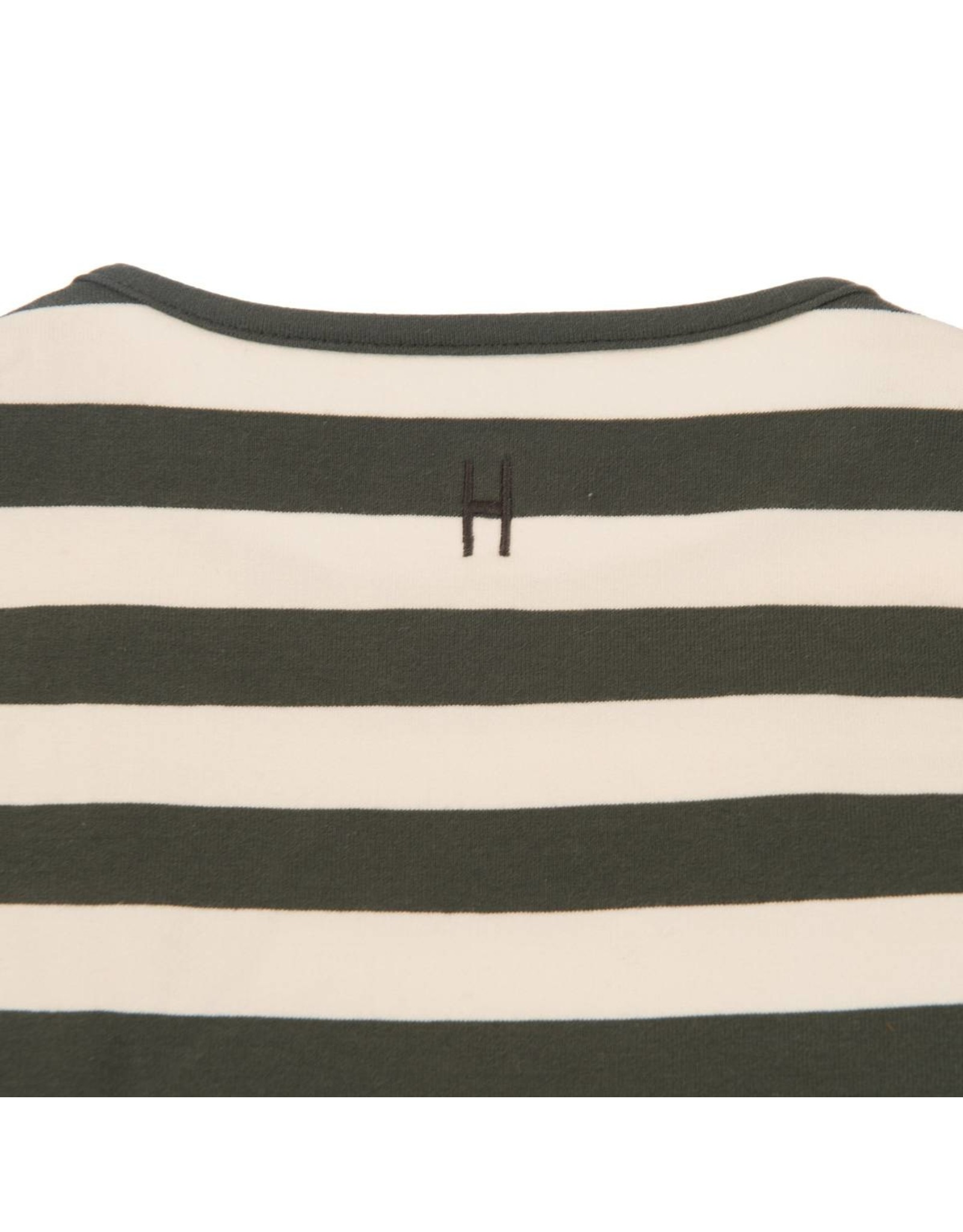 Little Hedonist Longsleeve sand pirate black striped