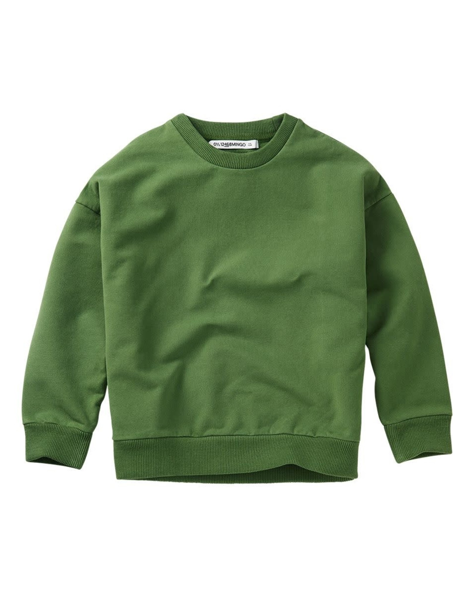 Mingo Oversized sweater Moss green