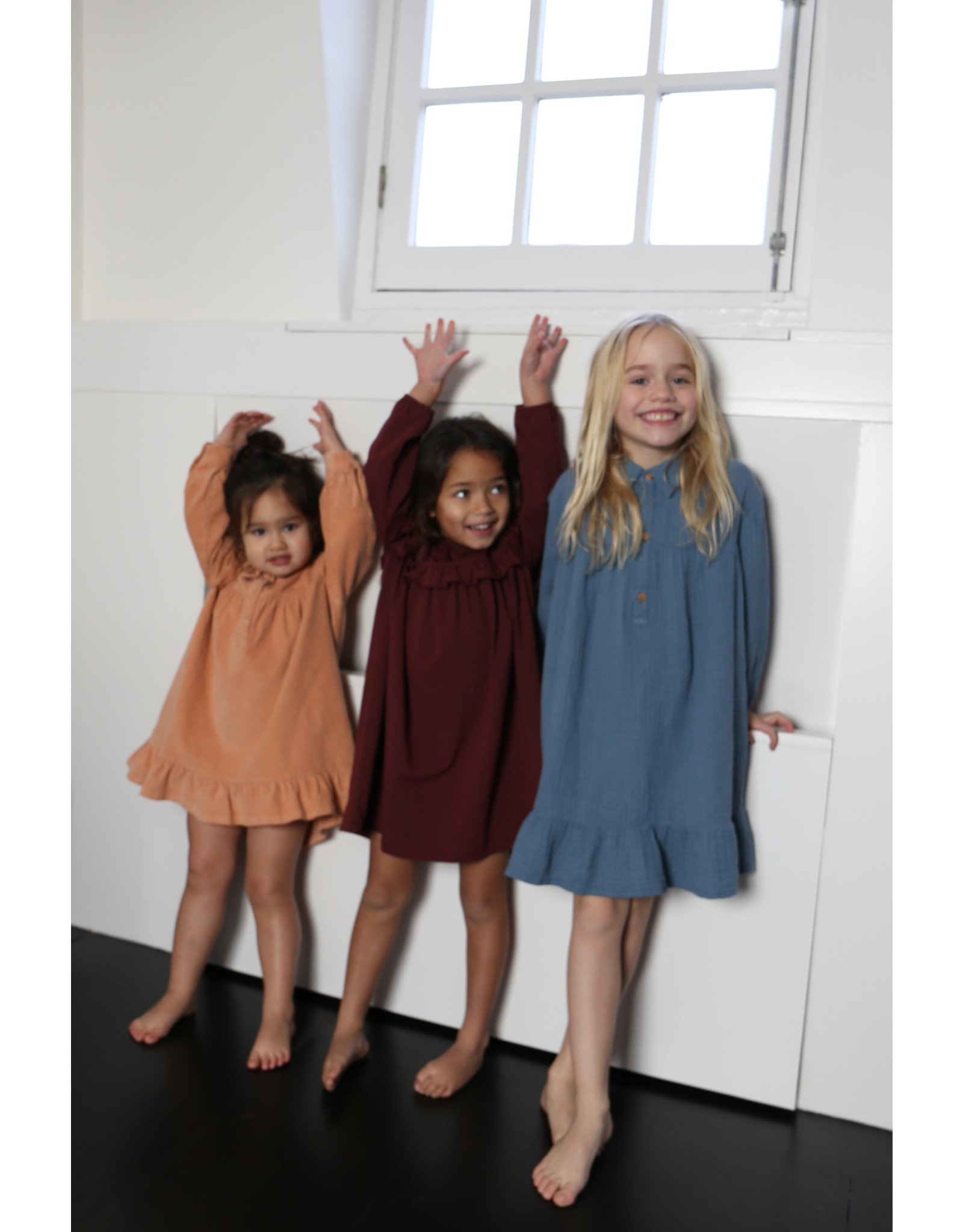 Daily Brat Olivia dress Carben red