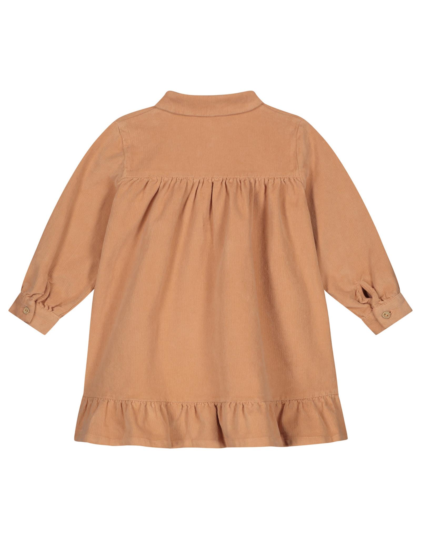 Daily Brat Lilyan corduroy dress copper rose
