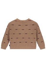 Daily Brat Dawn oversized knitted sweater pecan