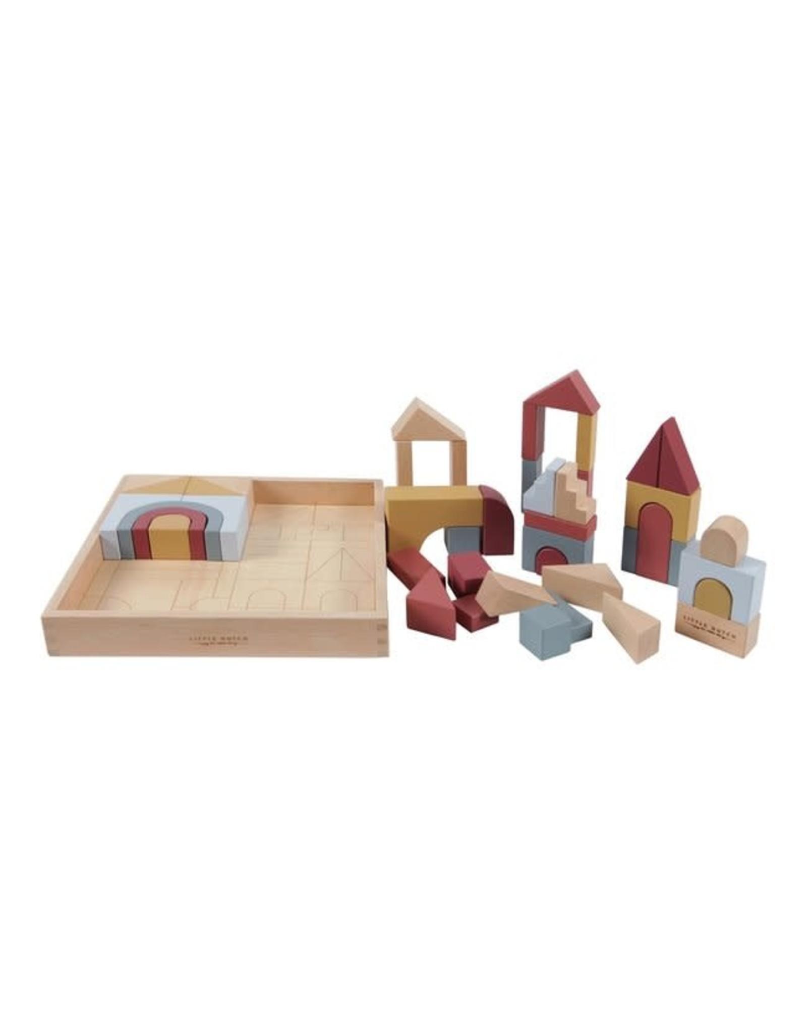 Little Dutch houten blokkendoos