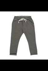 Blossom Kids Strap cord joggers, Petit Stripes, Espresso Black