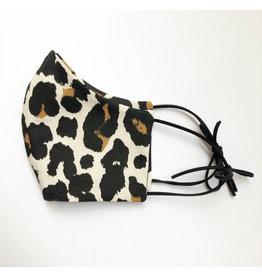 Manoh Mondkapje leopard print