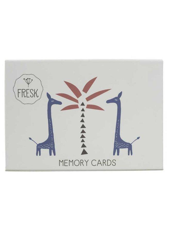 Memory spel Fresk