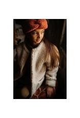 Alwero hoofdband 100% wol // brique