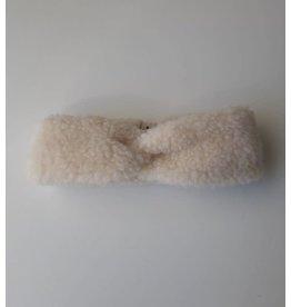 Alwero hoofdband 100% wol // beige