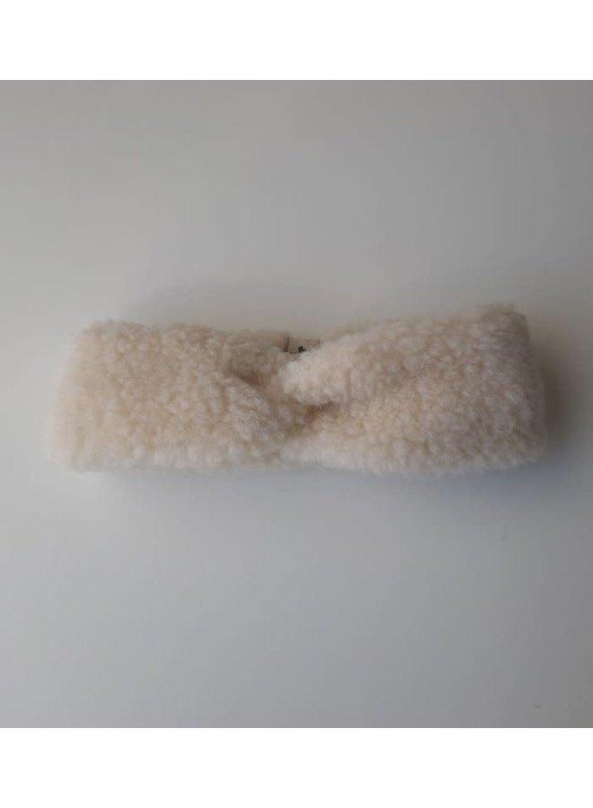 hoofdband 100% wol // beige
