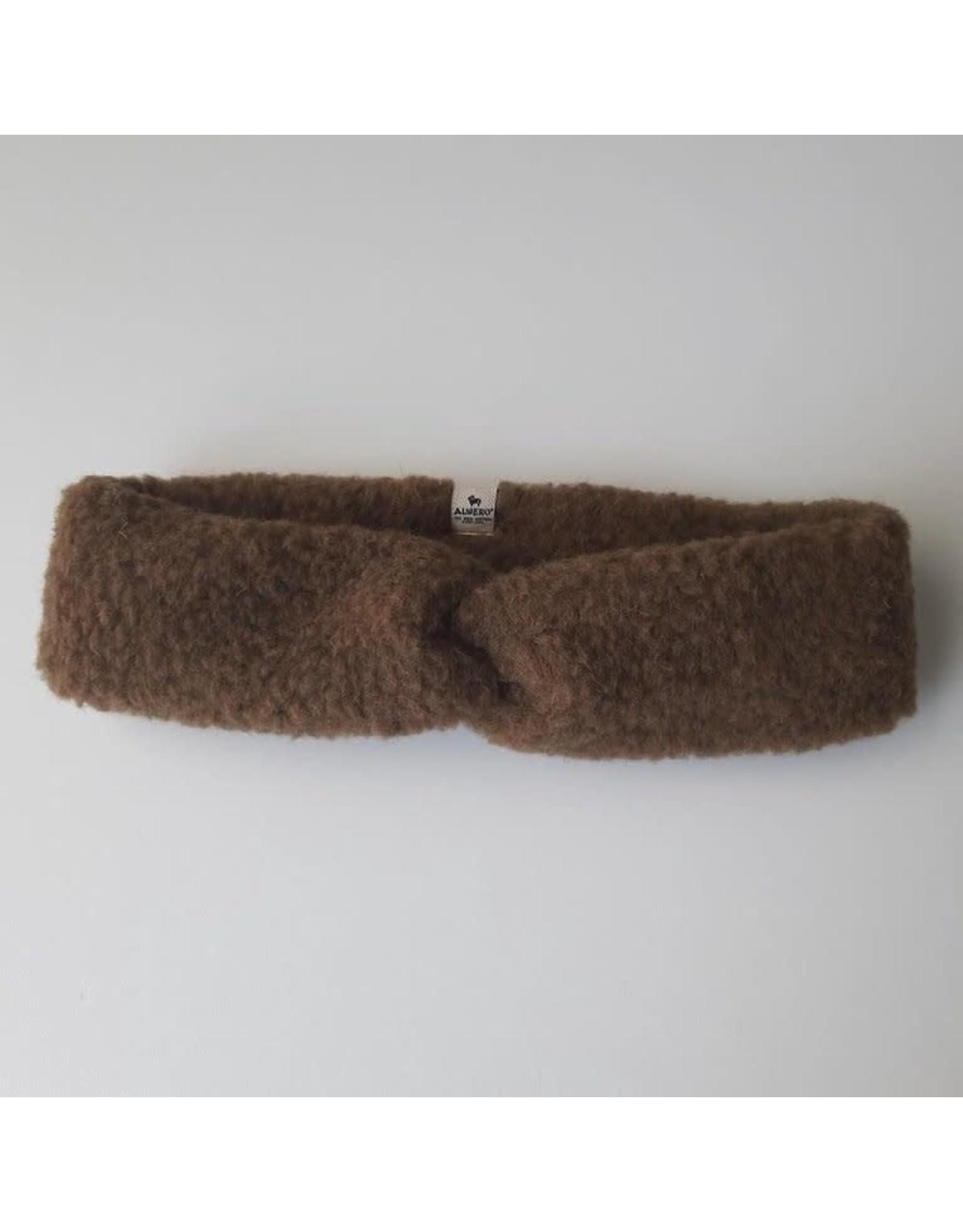 Alwero hoofdband 100% wol //bark