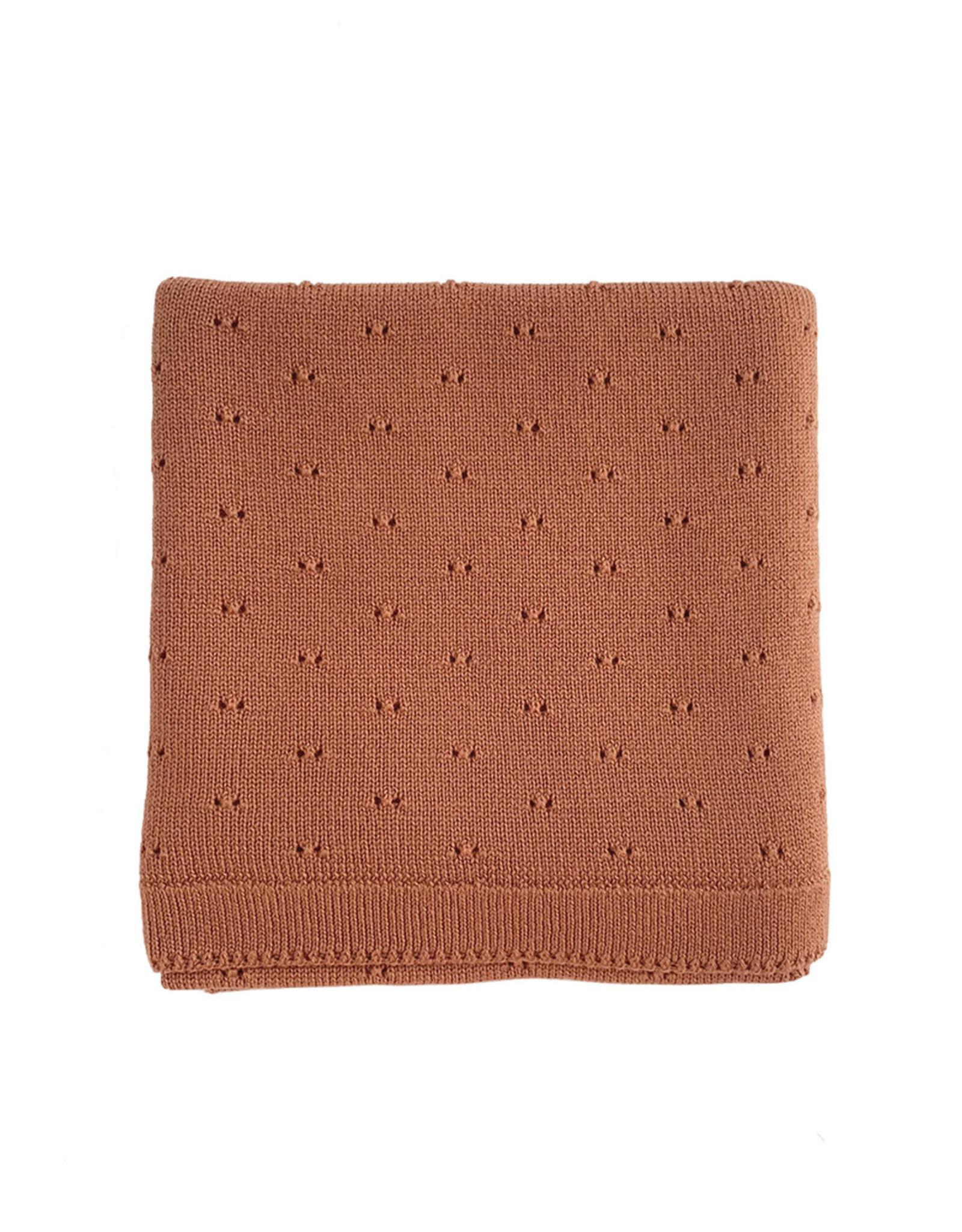 Hvid Blanket Bibi brick