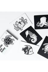 Wee Gallery Baby art cards - Ocean