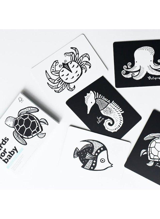 Baby art cards - Ocean