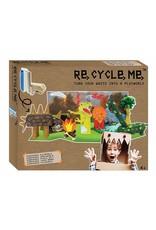 Re-Cycle-Me Knutsel een Dino wereld