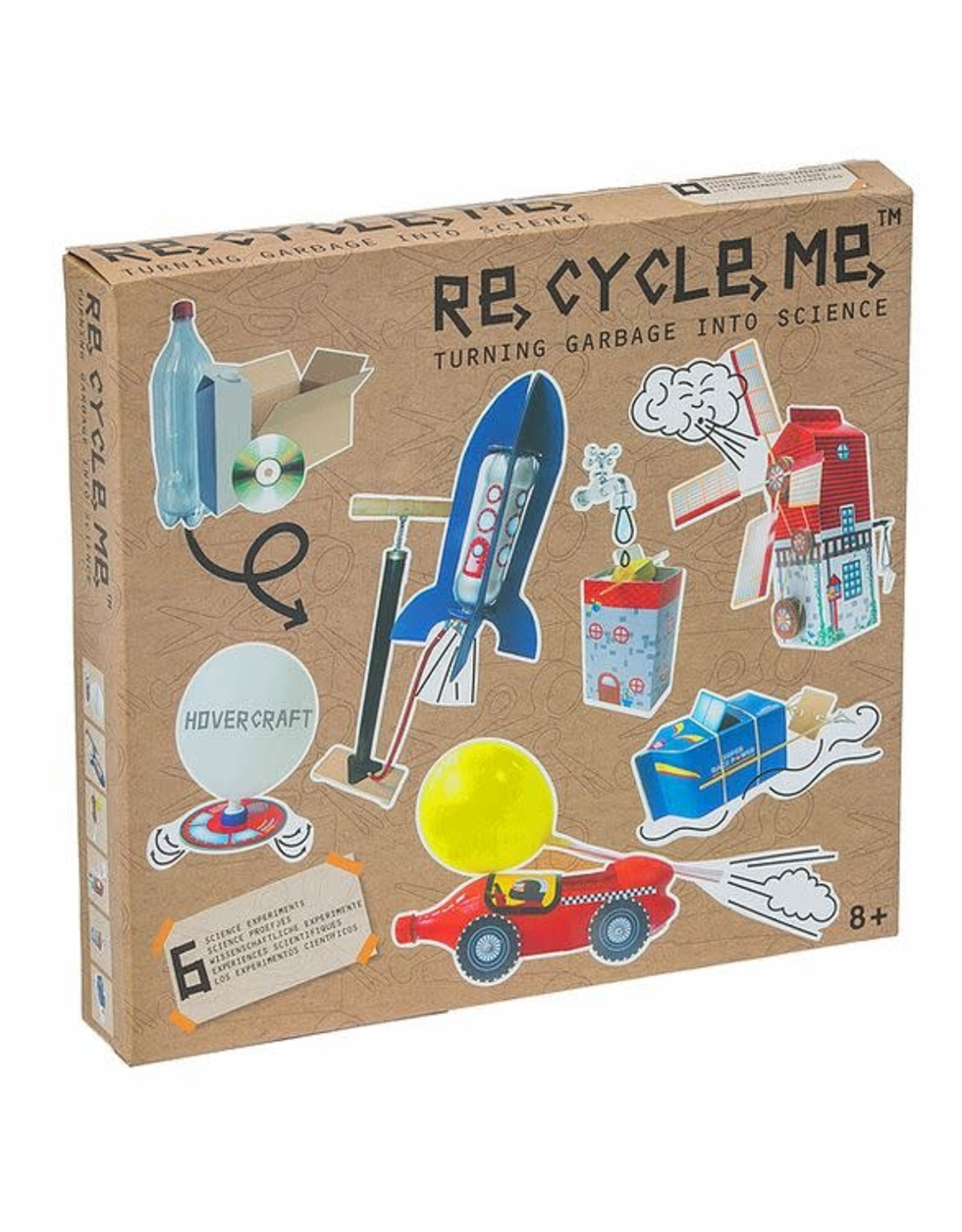 Re-Cycle-Me Experimenten knutselpakket