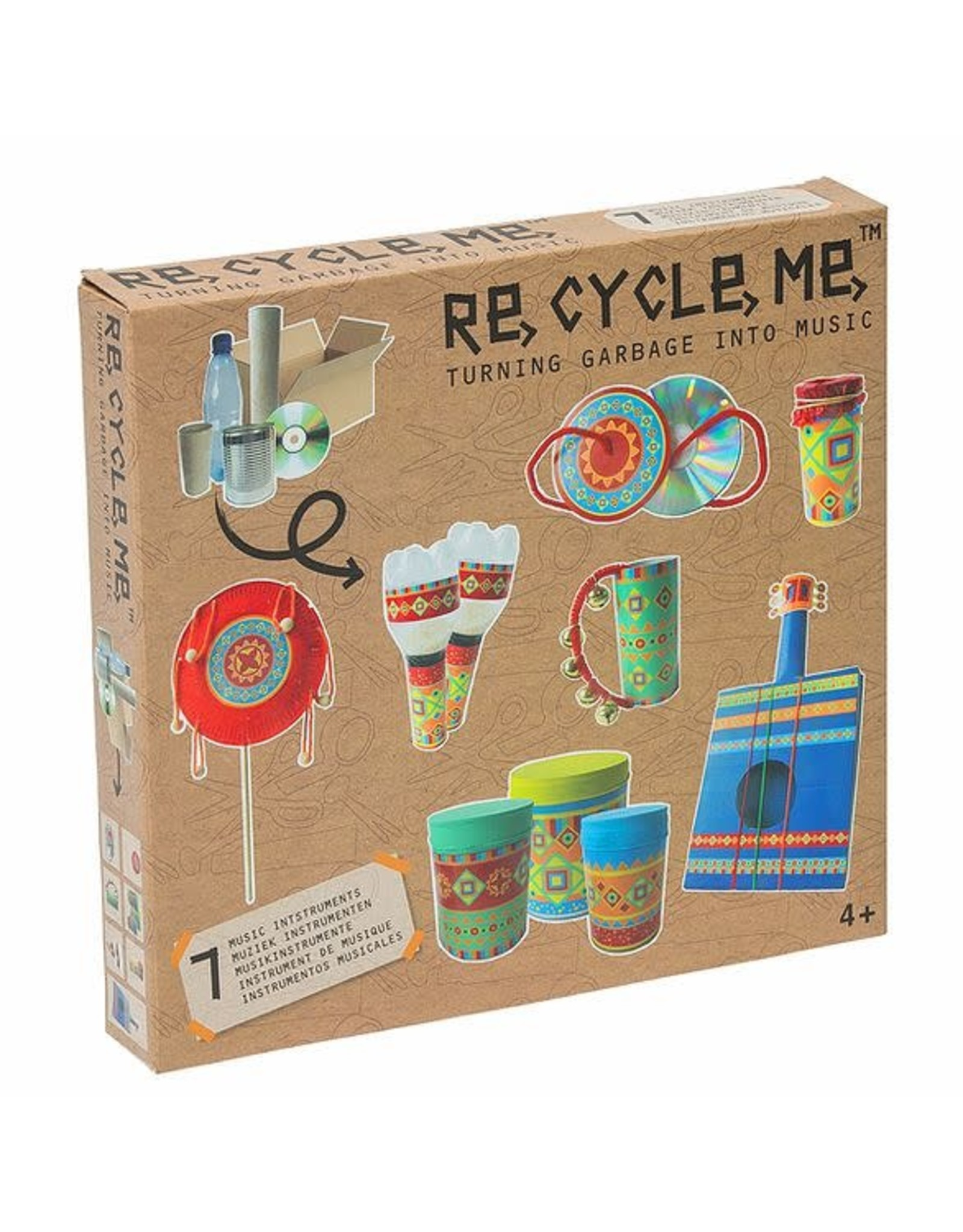 Re-Cycle-Me Muziekinstrumenten knutselpakket