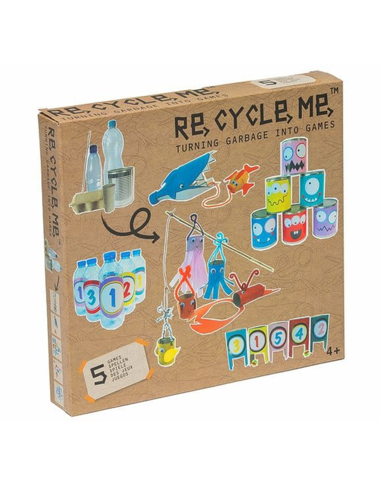 Re-Cycle-Me Spelletjes knutselpakket