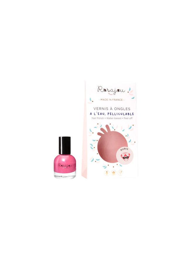 nail polish dark pink 'Rubis'