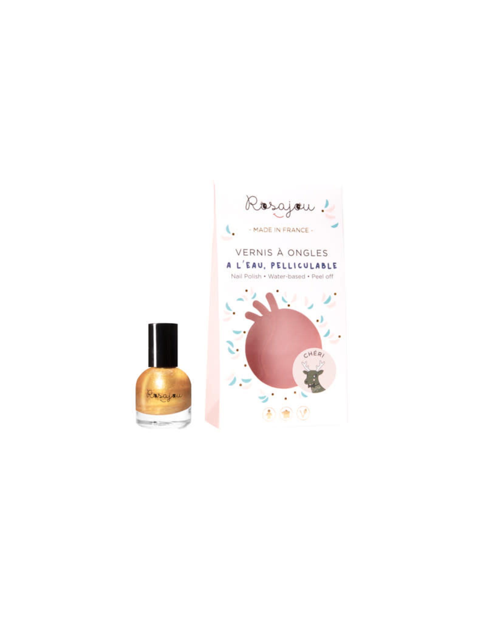 Rosajou nail polish gold 'Cheri'
