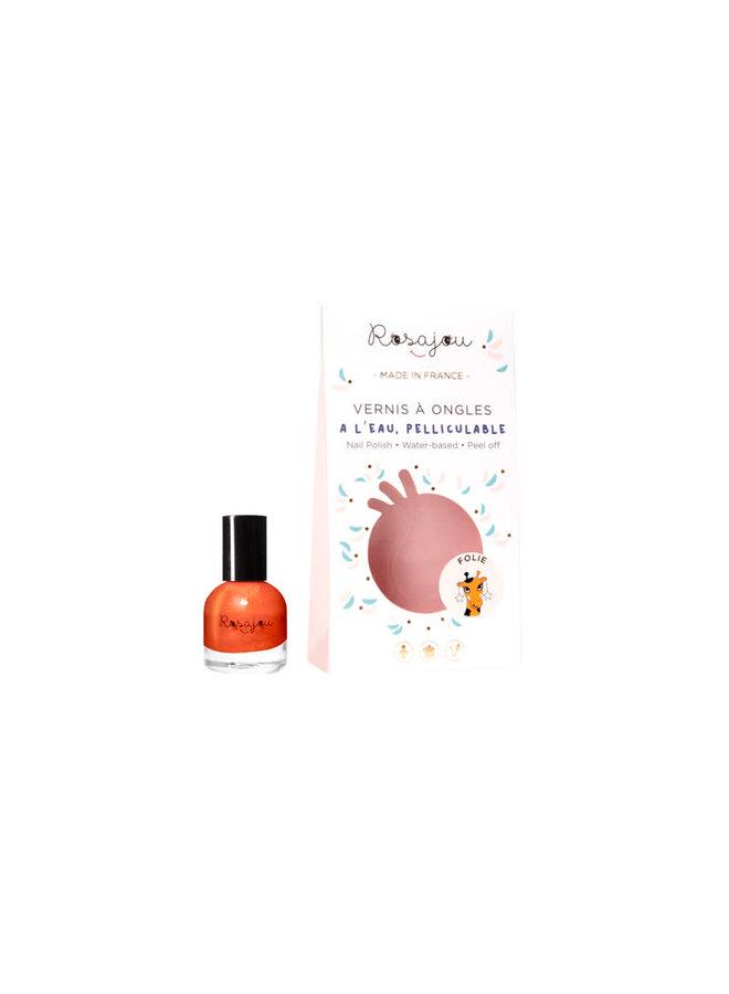 nail polish orange 'Folie'