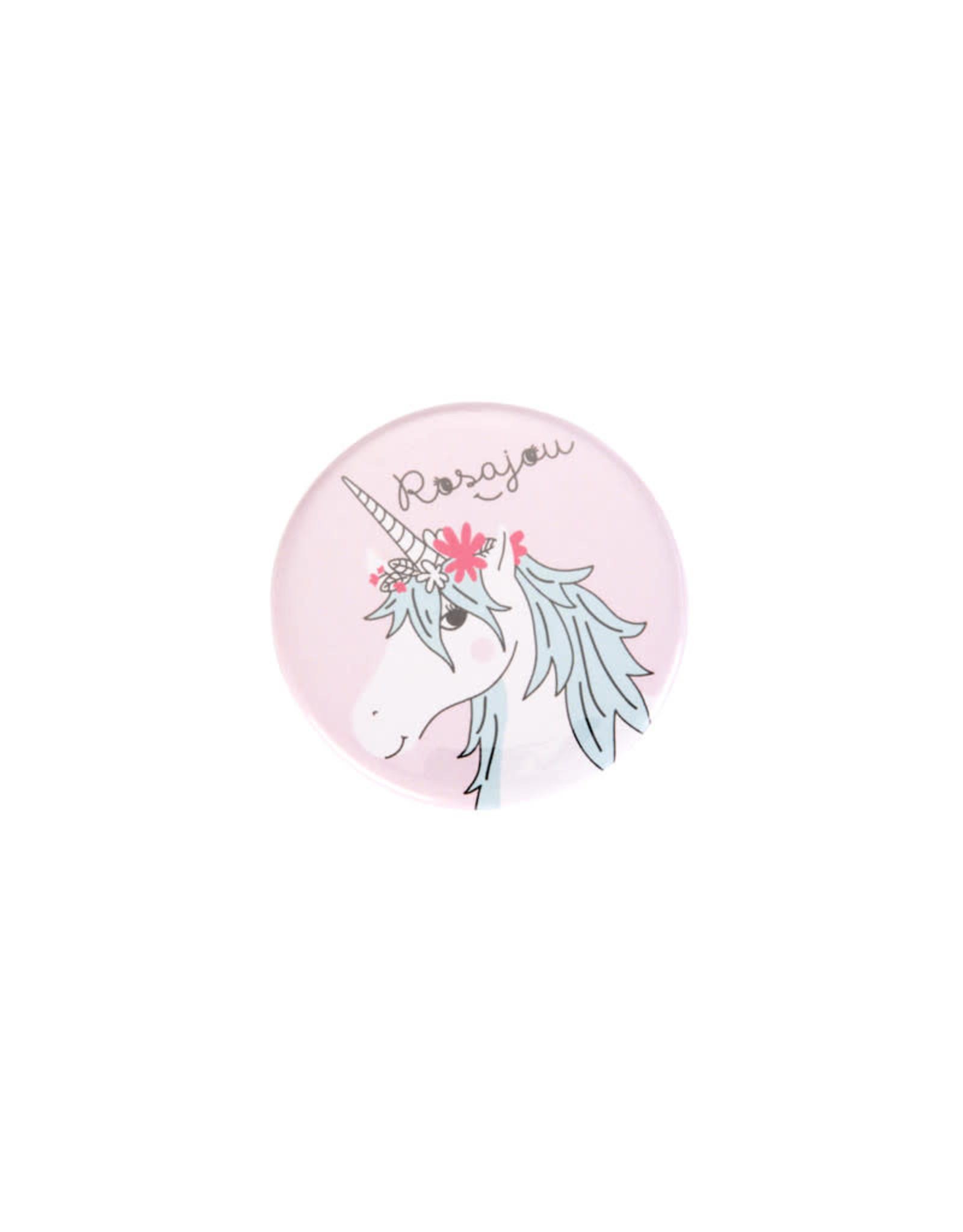 Rosajou Pocket mirror - Unicorn