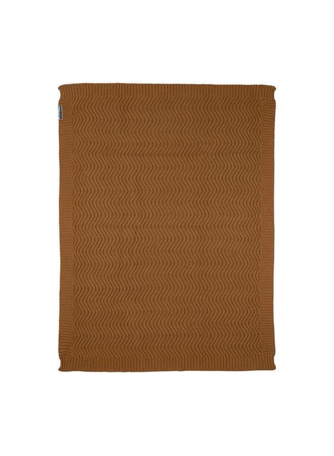 Deken waves Camel 100 x 150 cm