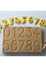 Letter- en cijferbord