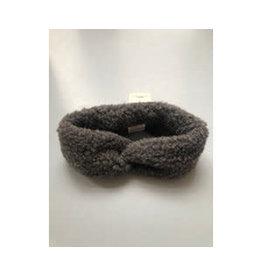 Alwero hoofdband 100% wol // graphite