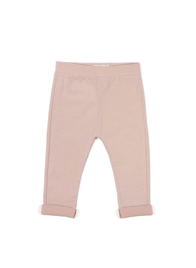 Basic jersey pants Vintage Blush