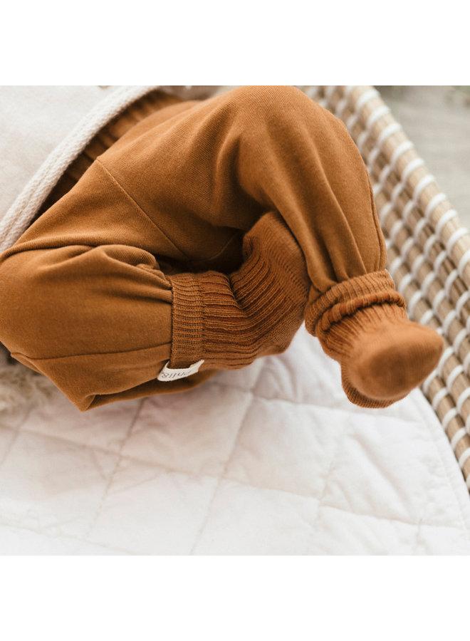 ribbed baby socks Hazel