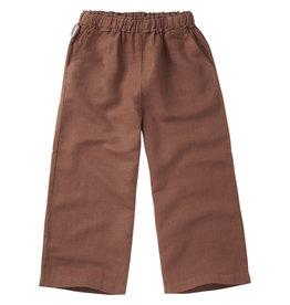 Mingo Linen Wide Pants Siena Rose