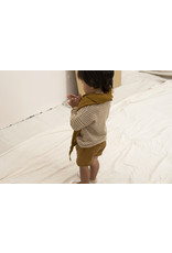 Nixnut Be longsleeve Stripe / Dust Caramel