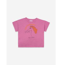 Bobo Choses Fetching Horse Short Sleeve shirt