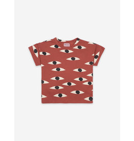 Bobo Choses Eyes All over Short sleeve T-shirt
