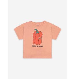 Bobo Choses Vote for Pepper Short Sleeve T-shirt