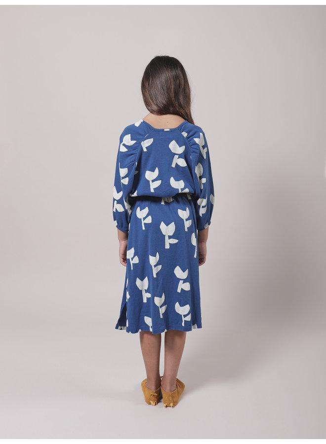 Poppy All Over Jersey Dress
