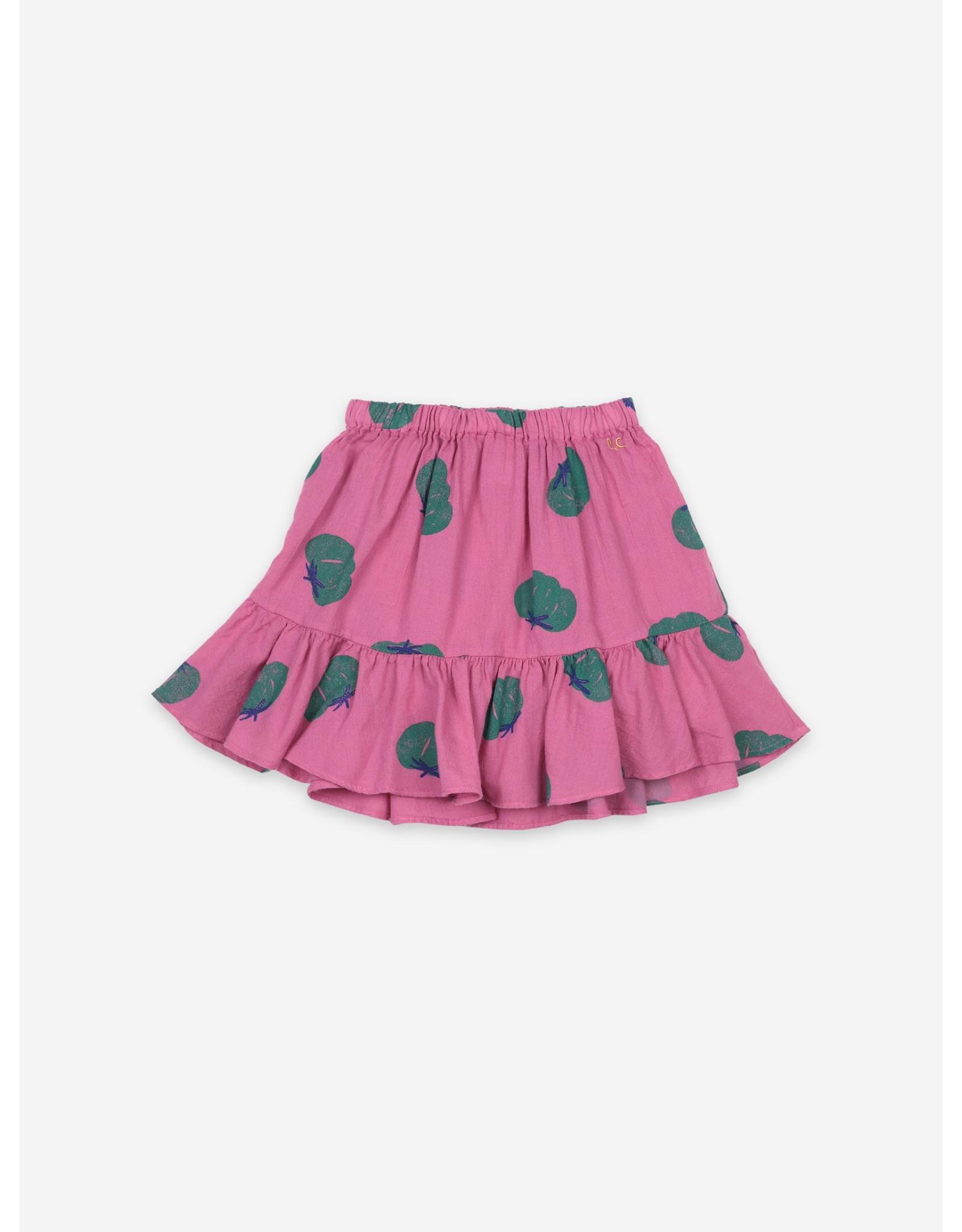 Bobo Choses Tomatoes All Over Ruffle Mini Skirt