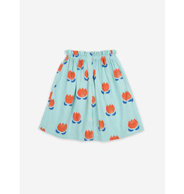 Bobo Choses Chocolate All Over Buttoned Midi Skirt