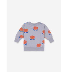 Bobo Choses Chocolate Flower Sweatshirt