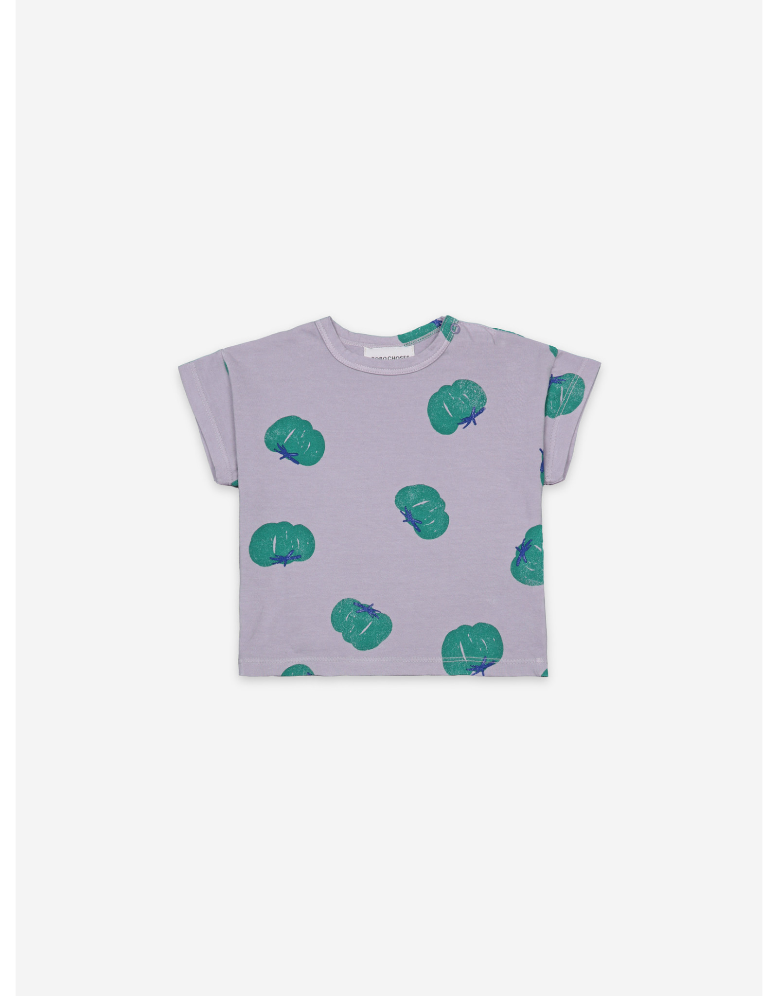 Bobo Choses Tomatoes All Over Short Sleeve T-shirt