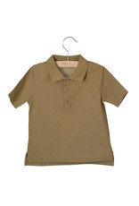 Little Hedonist Short Sleeve Polo Max Antique Bronze