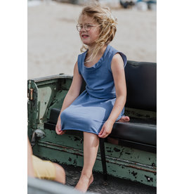 Little Hedonist Sleeveless Dress Judy Coastal Fjord