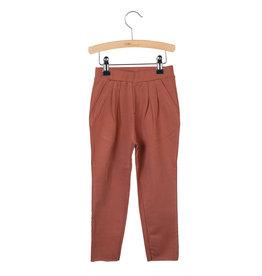 Little Hedonist Pleated Trousers Kobus Auburn