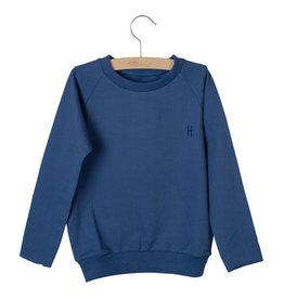 Little Hedonist Sweater Caecilia Uni Coastal Fjord