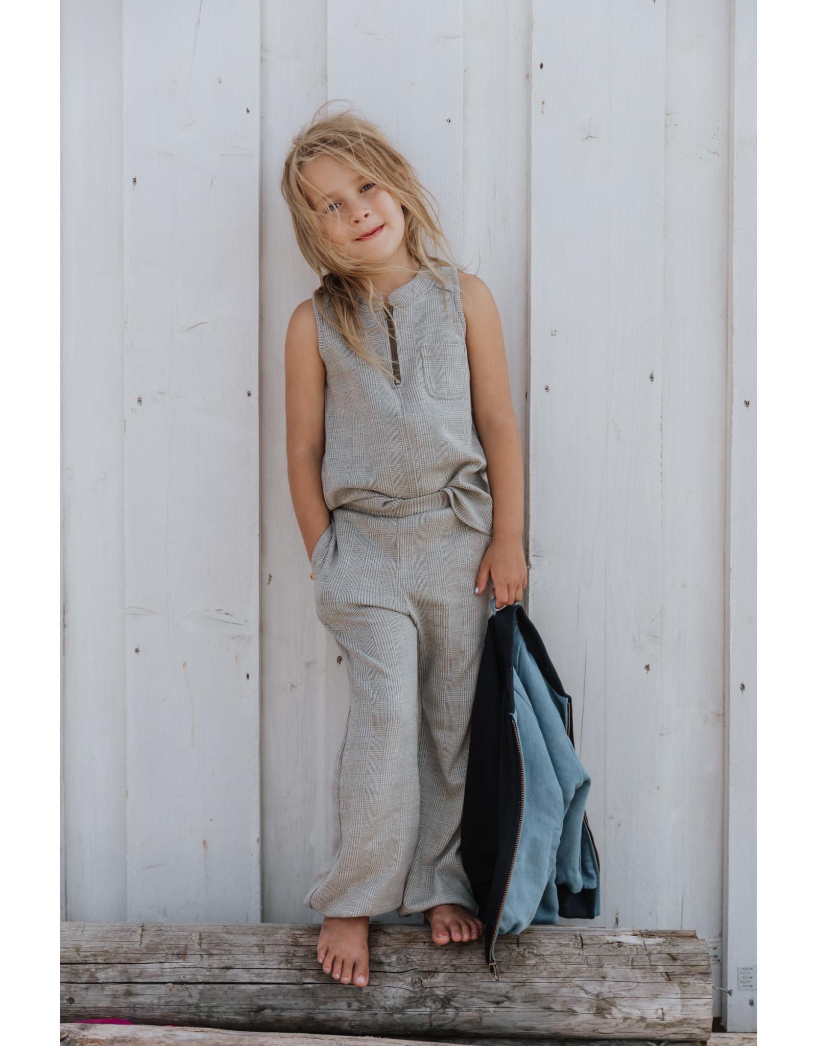 Little Hedonist Harem Pants Yasmin Jacquardbeige