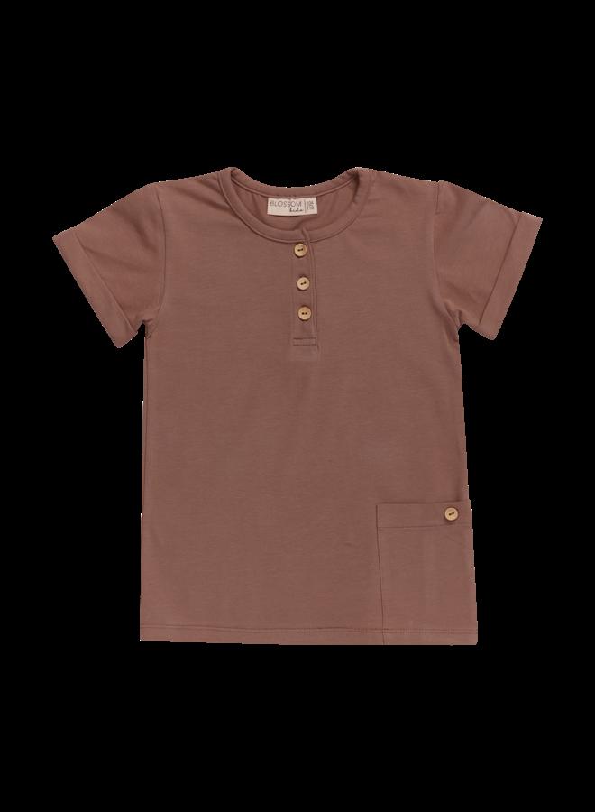 Shirt - Short sleeve - Creamy Cacao