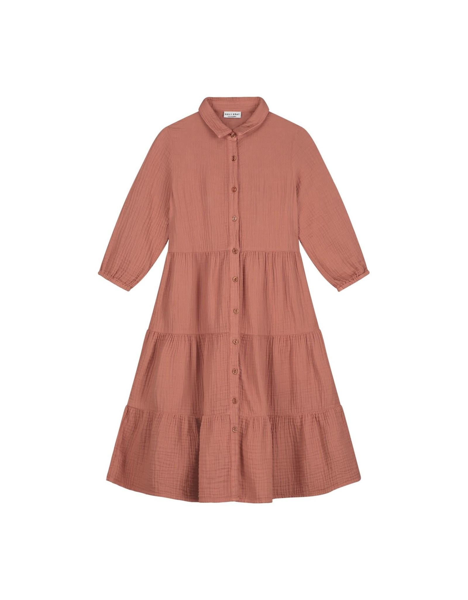 Daily Brat Ella Dress summer cinnamon