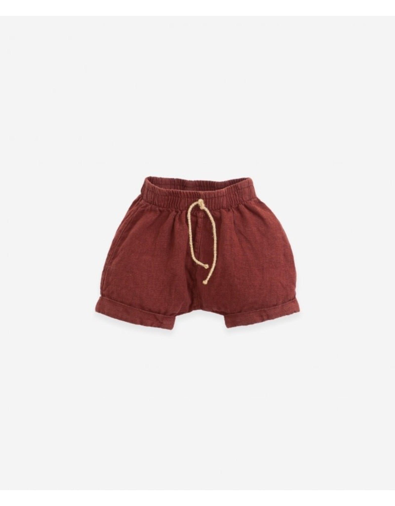 Play Up Linen shorts - Farm
