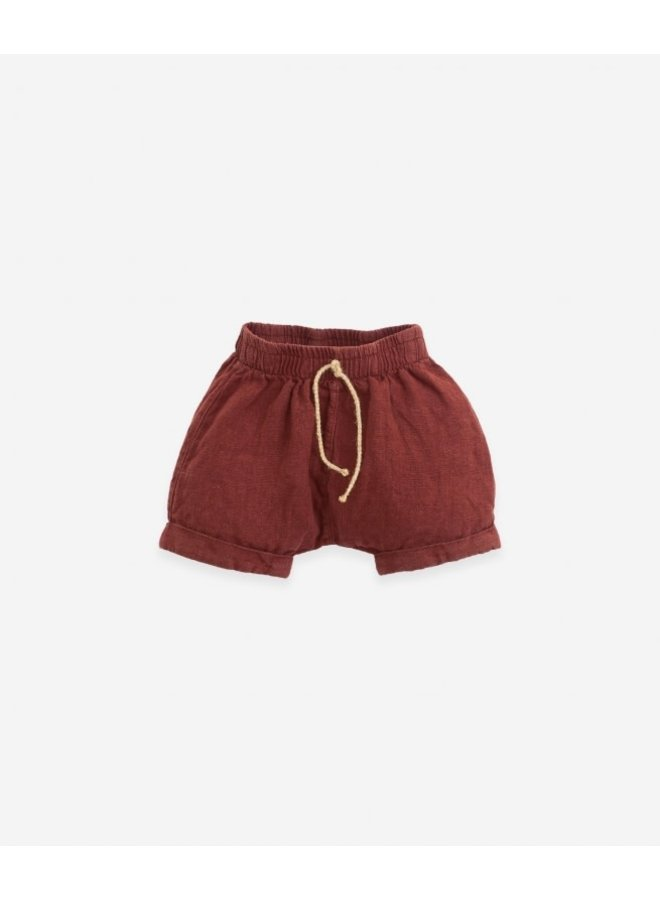 Linen shorts - Farm
