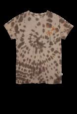 Ammehoela T-shirt Zoe Tie Dye Coffee