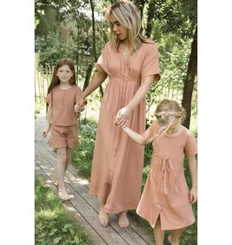 Ammehoela Mom dress Coral Dust